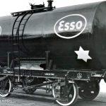 Цистерна Esso старое фото