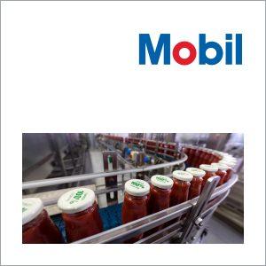 Смазочные материалы Mobil для пищевой промышленности