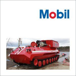 Смазочные материалы Mobil для передвижного оборудования
