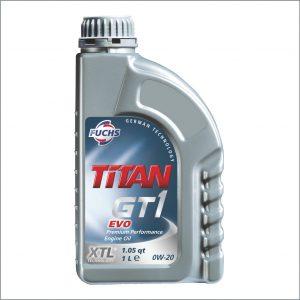 Моторное масло Fuchs Titan GT1 Evo 0W20