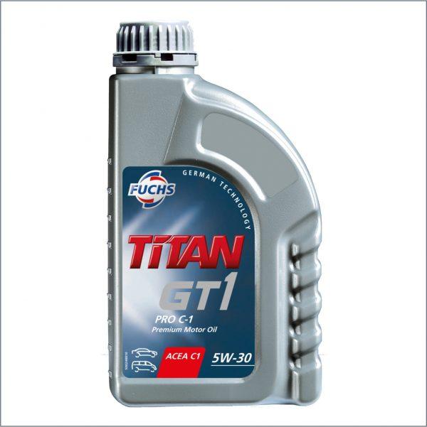 Моторное масло Fuchs Titan GT1 Pro C-1 5W30 1L 1