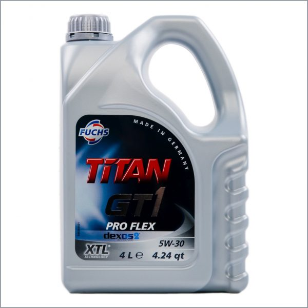 Моторное масло Fuchs Titan GT1 Pro Flex 5W30 4L 1