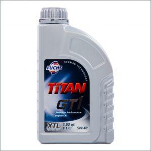 Моторное масло Fuchs Titan GT1 XTL 5W40 1L 1