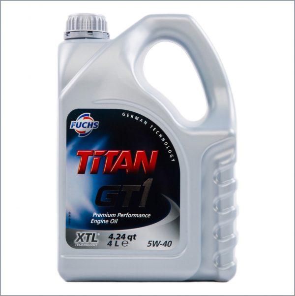 Моторное масло Fuchs Titan GT1 XTL 5W40 4L 1