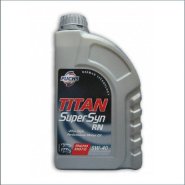 Моторное масло Fuchs Titan SuperSyn RN 5W40 1L 1