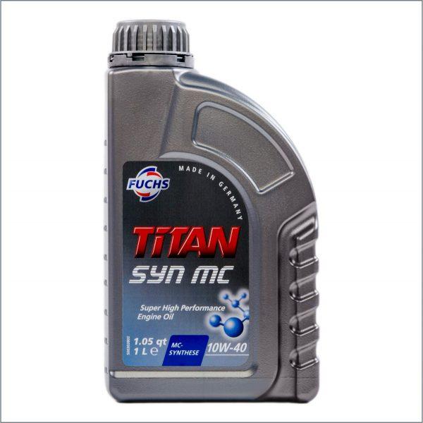 Моторное масло Fuchs Titan Syn MC 10W40 1L 1