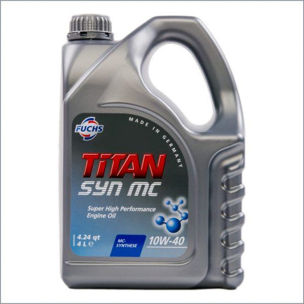 Моторное масло Fuchs Titan Syn MC 10W40 4L 1