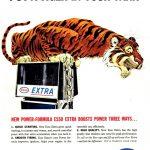 Реклама Esso 1962