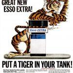 Реклама Esso 1964