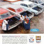 Реклама Mobil 1964