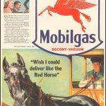 Реклама Mobilgas 1941