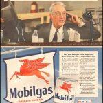 Реклама Mobilgas 1942