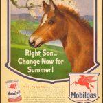 Реклама Mobilgas 1943