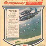 Реклама Mobilgas 1945