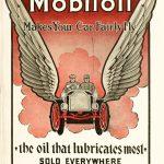 Реклама Mobiloil 1910