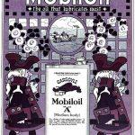 Реклама Mobiloil 1918