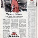 Реклама Mobiloil 1924