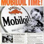 Реклама Mobiloil 1929