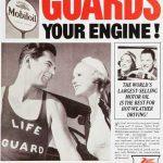 Реклама Mobiloil 1936