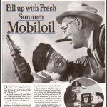 Реклама Mobiloil 1936 2