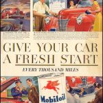 Реклама Mobiloil 1941