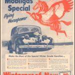 Реклама Mobiloil 1943