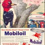 Реклама Mobiloil 1950