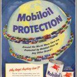Реклама Mobiloil 1951