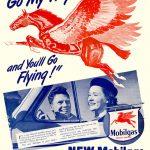 Реклама Mobiloil 1953