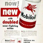 Реклама Mobiloil 1955
