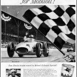 Реклама Mobiloil 1957