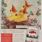 Реклама Mobiloil 1958