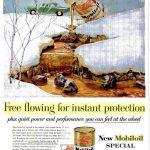 Реклама Mobiloil 1963