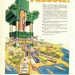 Реклама Socony-Vacuum 1920