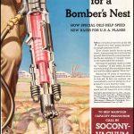 Реклама Socony-Vacuum 1942