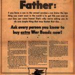 Реклама Socony-Vacuum war bonds 1942