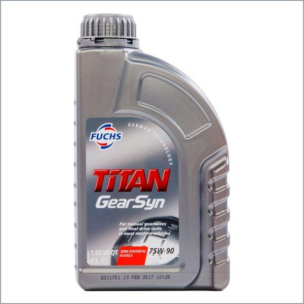 Трансмиссионное масло Fuchs Titan GearSyn 75W-90 1L 1