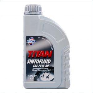 Трансмиссионное масло Fuchs Titan Sintofluid 75W-80 1L 1