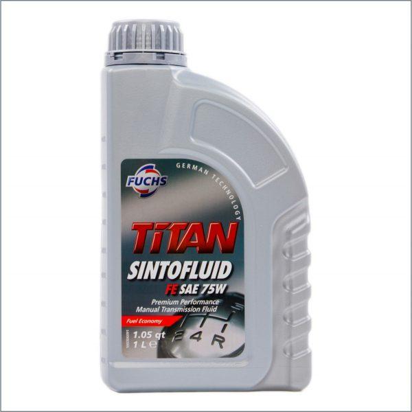 Трансмиссионное масло Fuchs Titan Sintofluid FE SAE 75W 1L 1