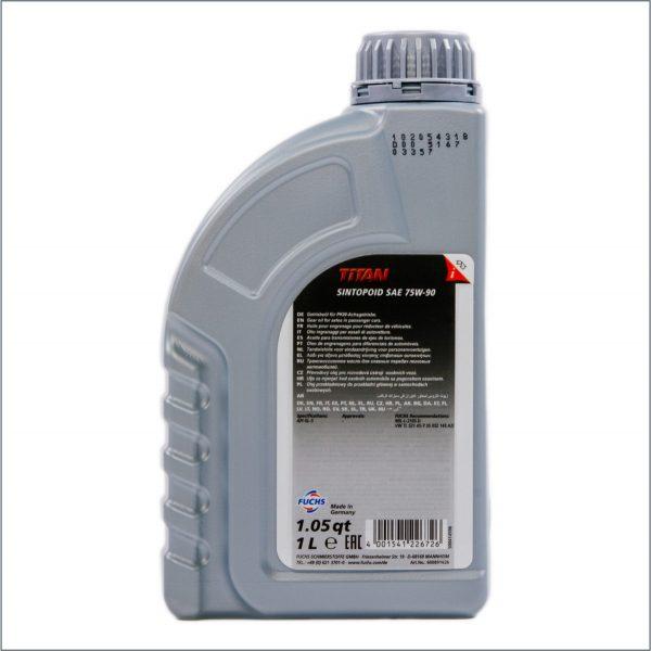 Трансмиссионное масло Fuchs Titan Sintopoid 75W-90 1L 2