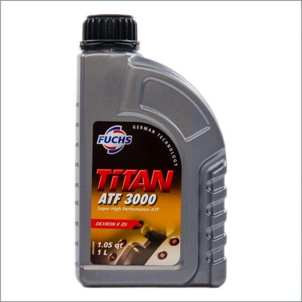 Жидкость для автоматических трансмиссий Fuchs Titan ATF 3000 1L 1