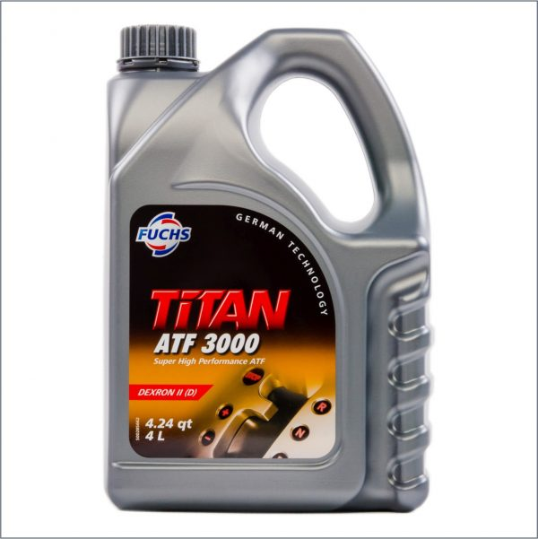 Жидкость для автоматических трансмиссий Fuchs Titan ATF 3000 4L 1