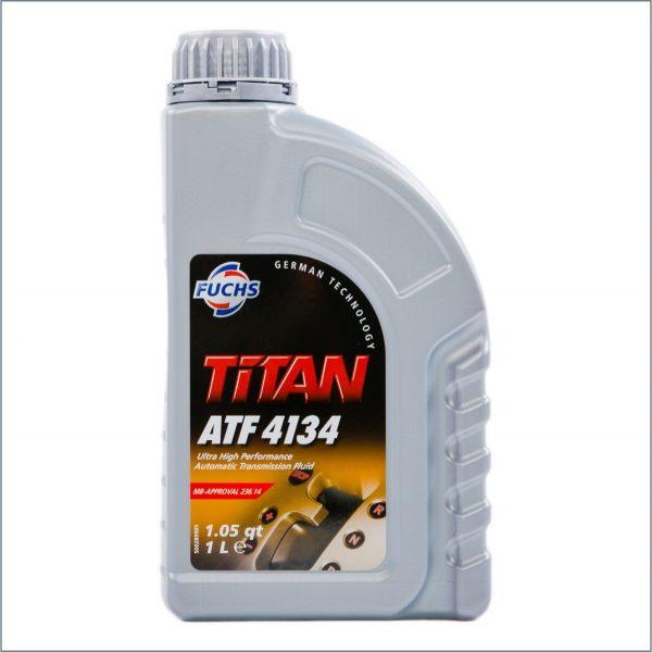 Жидкость для автоматических трансмиссий Fuchs Titan ATF 4134 1L 1