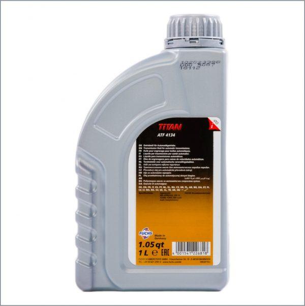 Жидкость для автоматических трансмиссий Fuchs Titan ATF 4134 1L 2