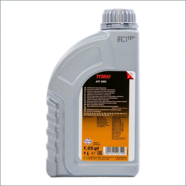 Жидкость для автоматических трансмиссий Fuchs Titan ATF 5005 1L 2