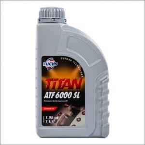 Жидкость для автоматических трансмиссий Fuchs Titan ATF 6000SL 1L 1