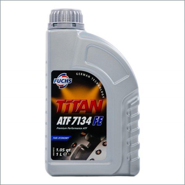 Жидкость для автоматических трансмиссий Fuchs Titan ATF 7134 FE 1L 1