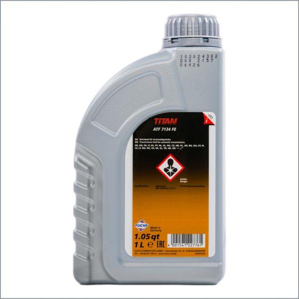 Жидкость для автоматических трансмиссий Fuchs Titan ATF 7134 FE 1L 2