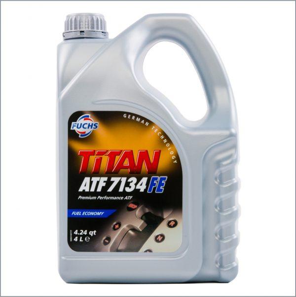 Жидкость для автоматических трансмиссий Fuchs Titan ATF 7134 FE 4L 1