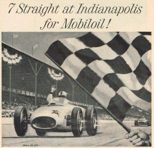 Индианаполис - победа с Mobil